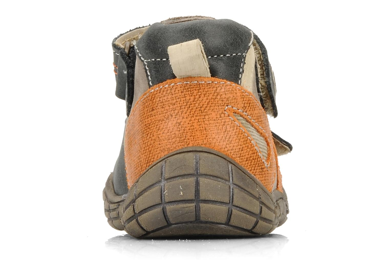 Chaussures à scratch Babybotte Stanislas Marron vue droite