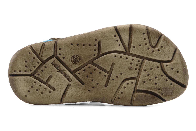 Sandales et nu-pieds Babybotte Tedi Marron vue haut