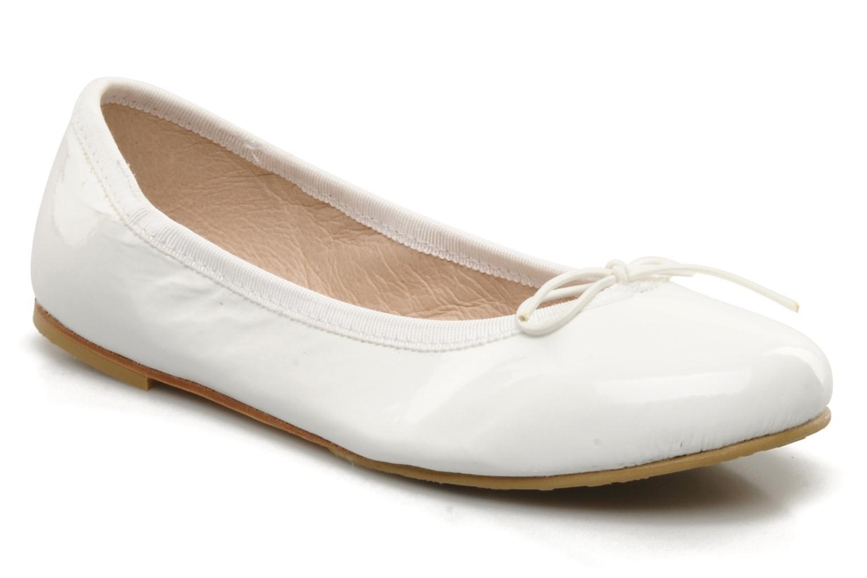Ballerinas Bloch Girls Chacha weiß detaillierte ansicht/modell
