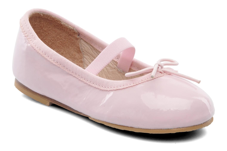 Ballerina's Bloch Toddler Cha cha Roze detail