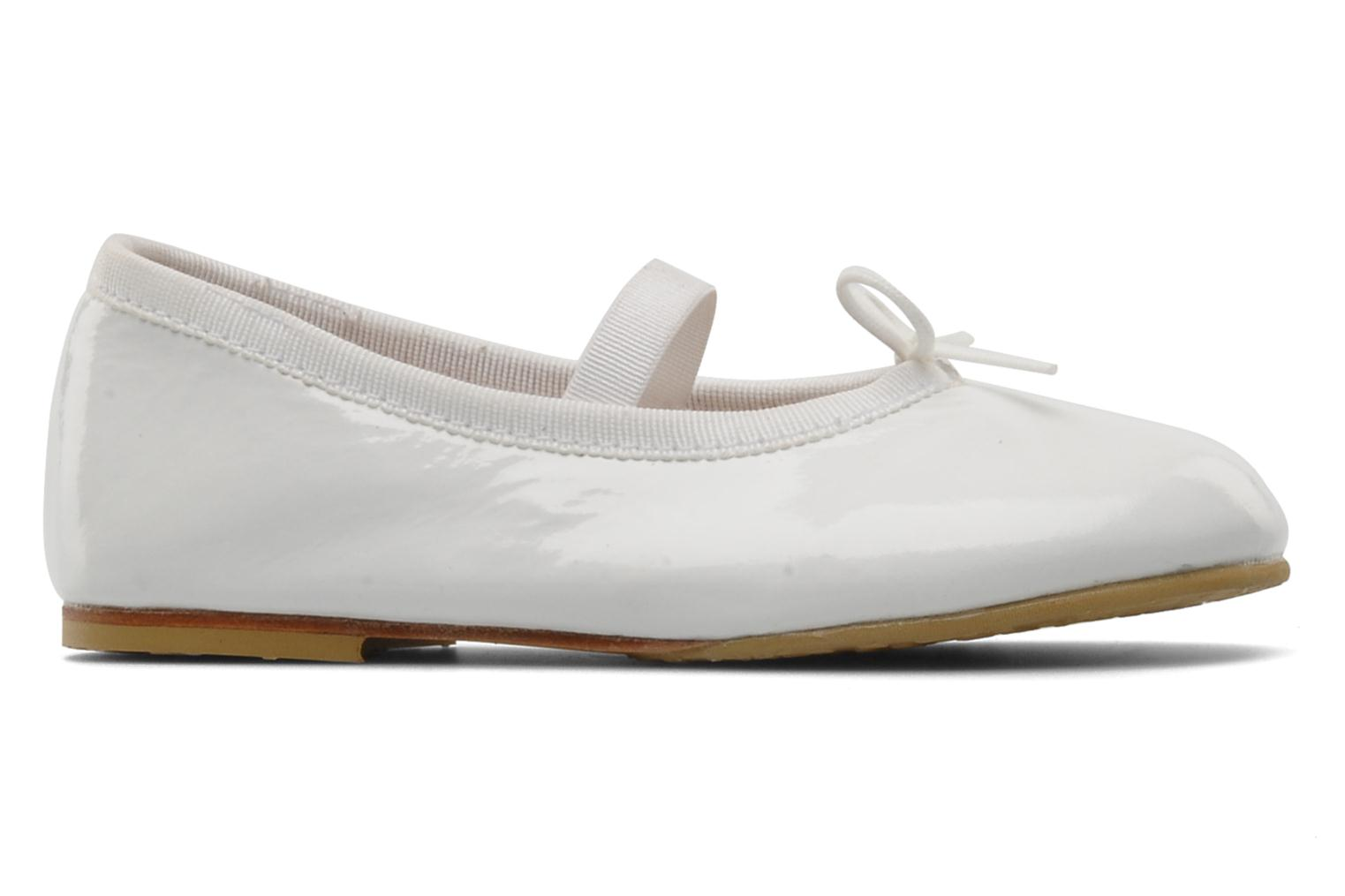 Ballet pumps Bloch Toddler Cha cha White back view
