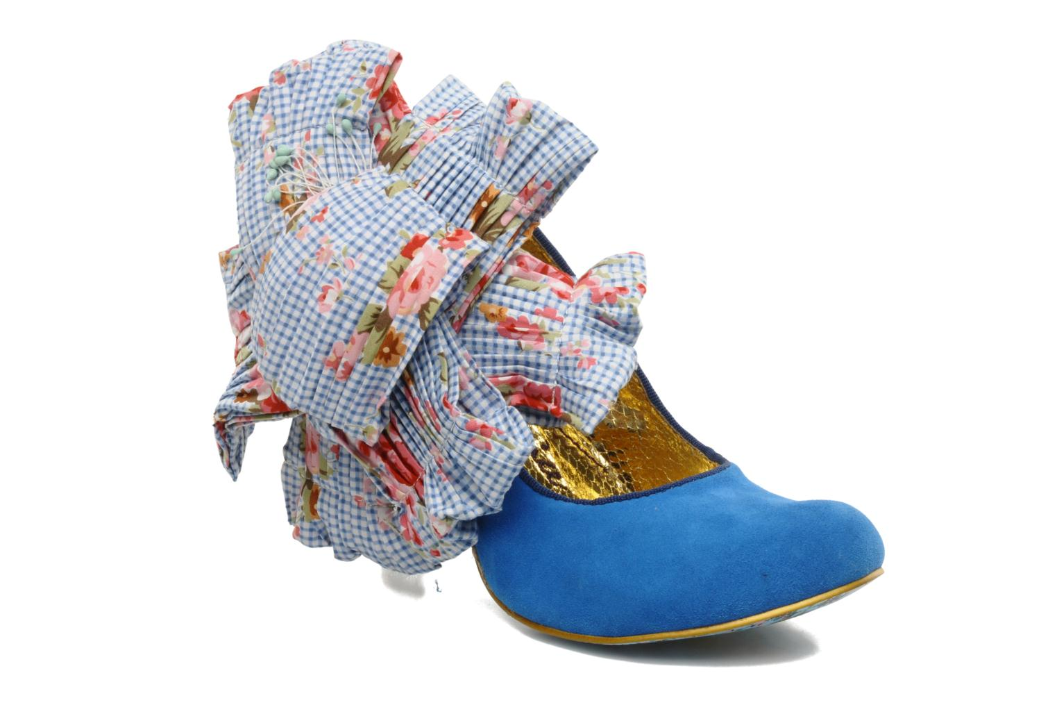 Pumps Irregular Choice BURGER N FRIES Blauw detail