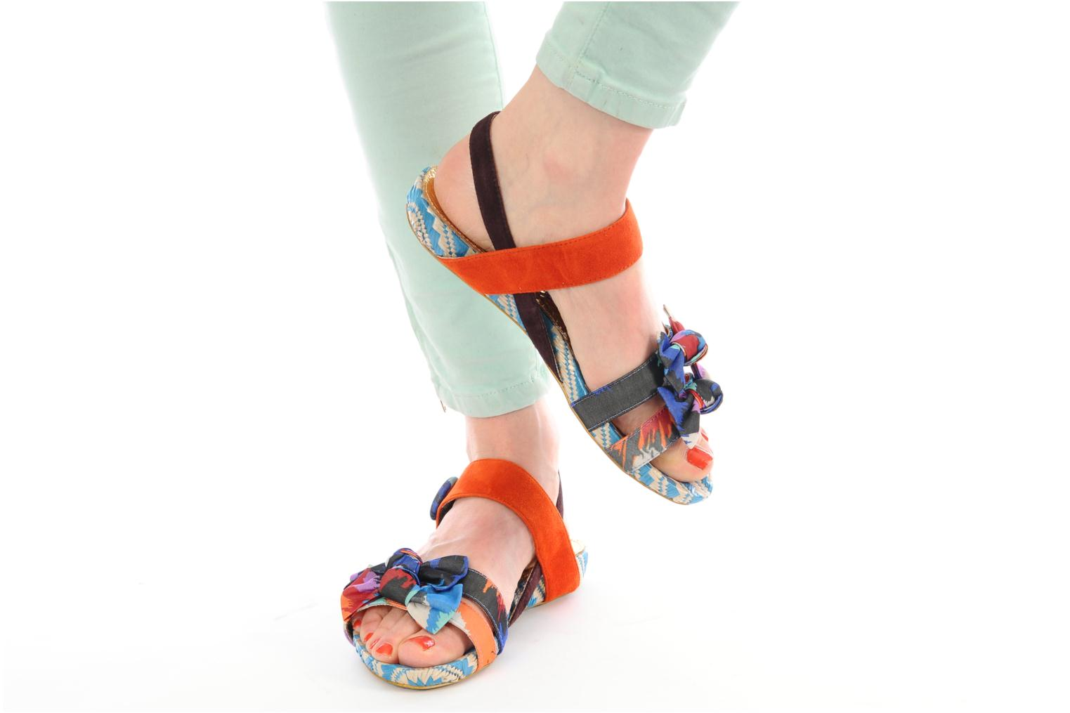 Sandals Irregular choice JESSIE JESSIE Multicolor view from underneath / model view