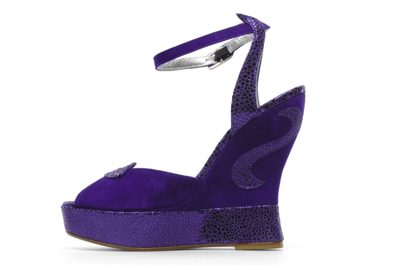 Sandali e scarpe aperte Terry de Havilland Margaux Viola immagine frontale