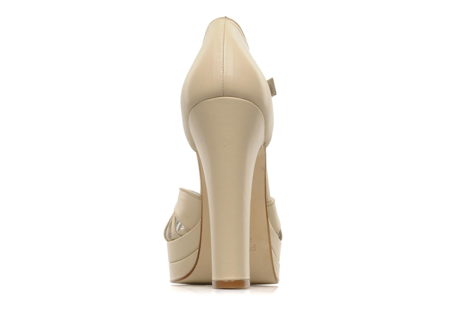 High heels Terry de Havilland Charlie Beige view from the right