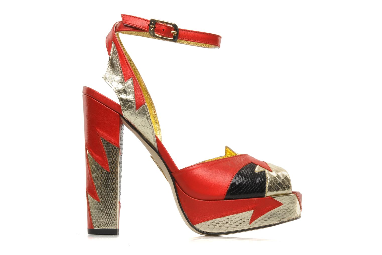 Sandales et nu-pieds Terry de Havilland Zia Multicolore vue derrière