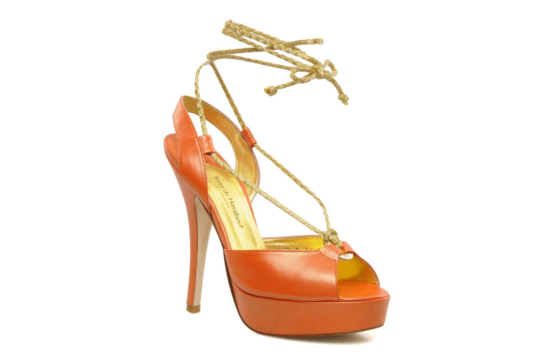 Sandalen Terry de Havilland Lisette orange detaillierte ansicht/modell