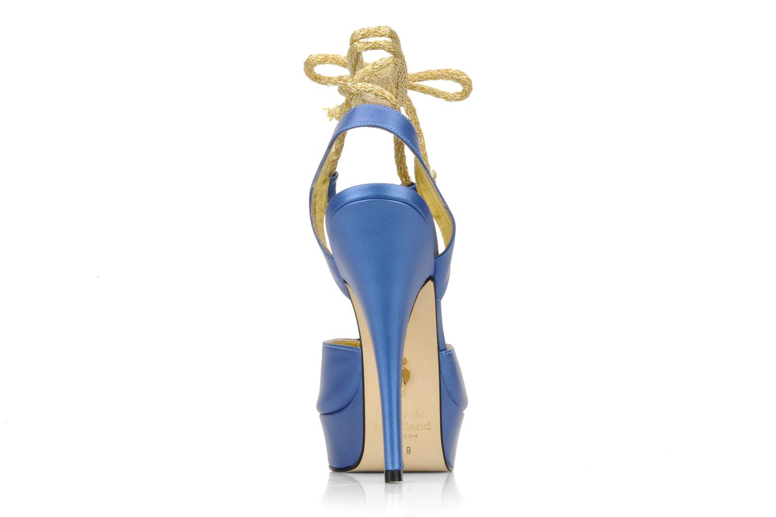 Sandals Terry de Havilland Lisette Blue view from the right
