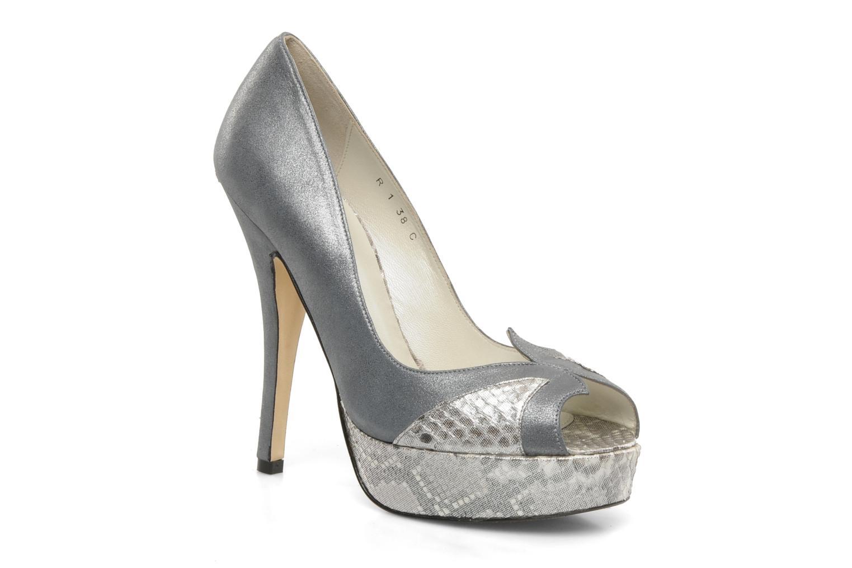 Høje hæle Terry de Havilland AMBER PYTHON Sølv detaljeret billede af skoene