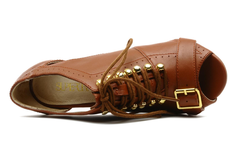 Boots en enkellaarsjes Supertrash Stolen Bruin links