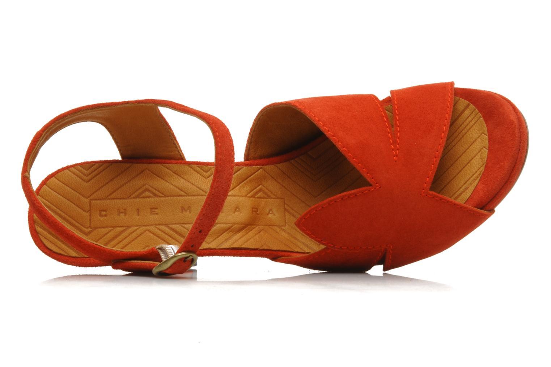 Sandali e scarpe aperte Chie Mihara Xoni Arancione immagine sinistra