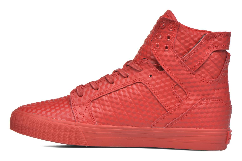 Sneaker Supra Skytop rot ansicht von vorne