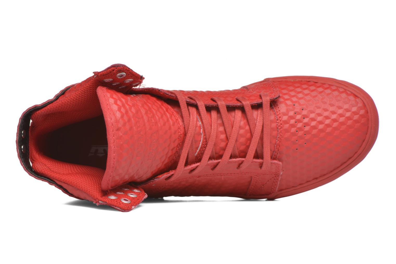 Sneaker Supra Skytop rot ansicht von links