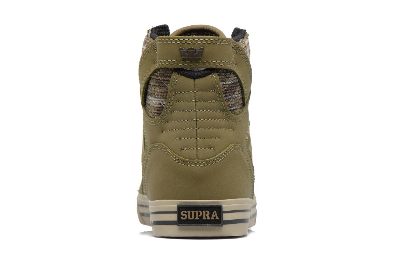Baskets Supra Skytop Vert vue droite