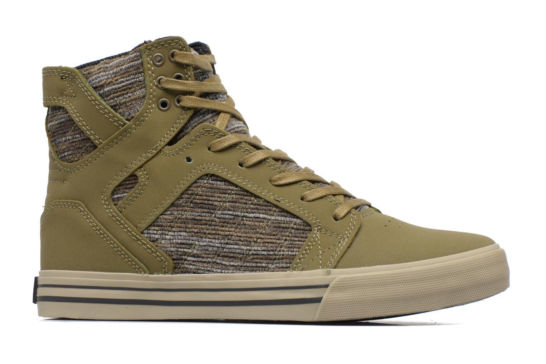 Sneakers Supra Skytop Grön bild från baksidan