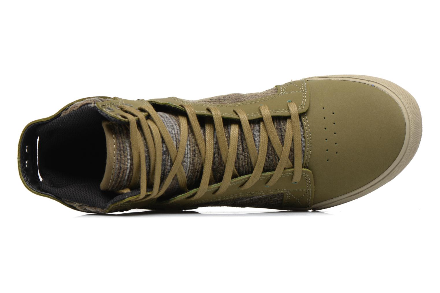 Trainers Supra Skytop Green view from the left
