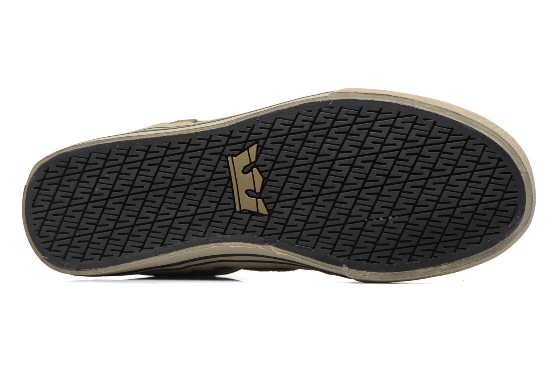 Sneakers Supra Skytop Verde immagine dall'alto