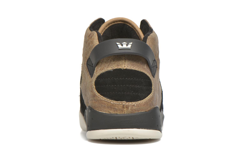 Chaussures de sport Supra Skytop III Marron vue droite