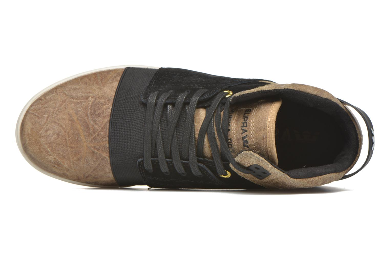 Sport shoes Supra Skytop III Brown view from the left