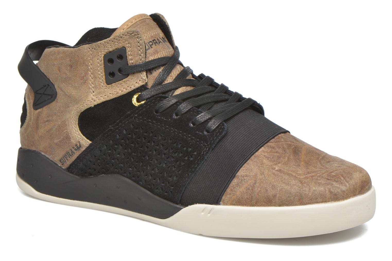 Sport shoes Supra Skytop III Brown detailed view/ Pair view