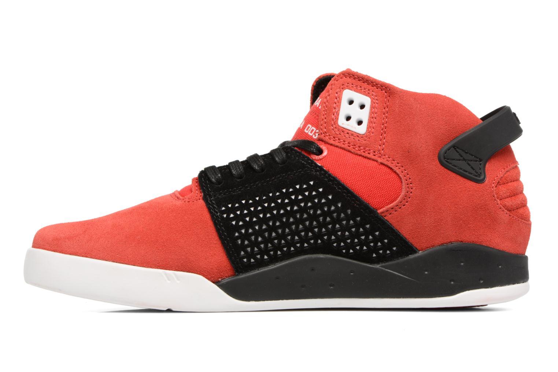 Zapatillas de deporte Supra Skytop III Rojo vista de frente
