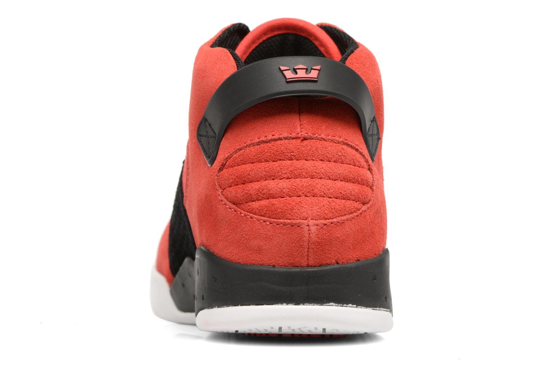 Zapatillas de deporte Supra Skytop III Rojo vista lateral derecha