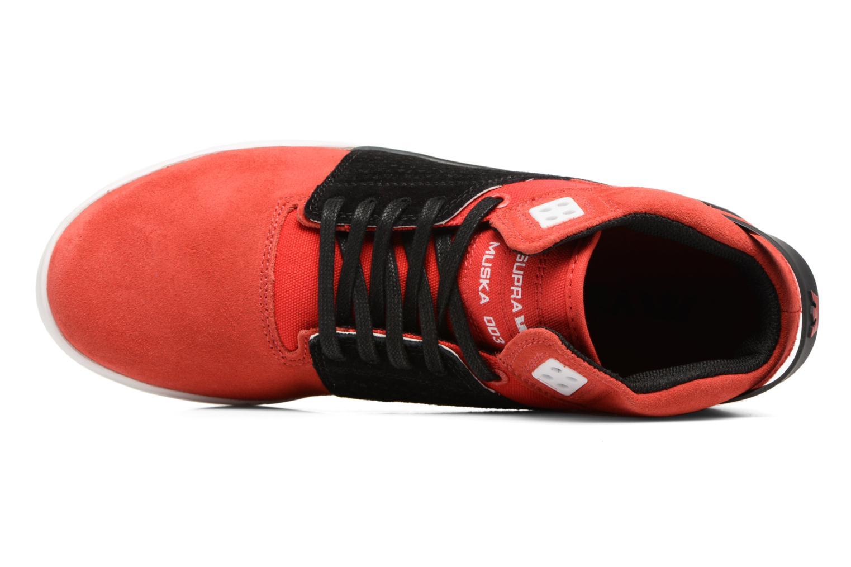 Zapatillas de deporte Supra Skytop III Rojo vista lateral izquierda