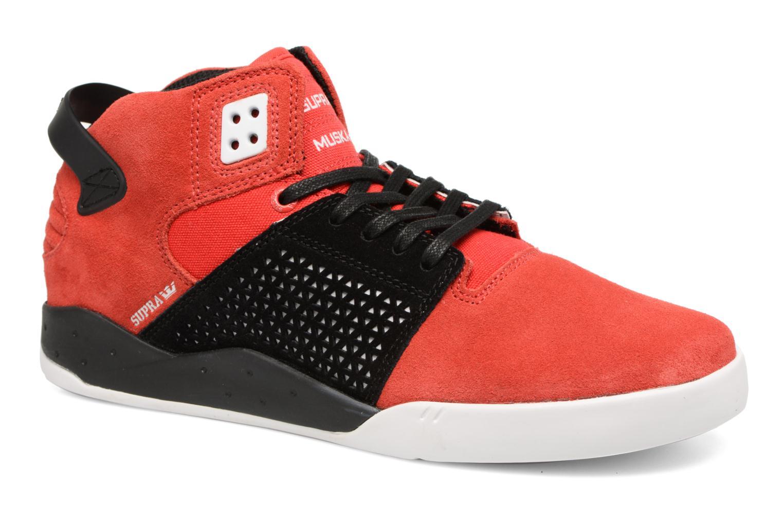 Zapatillas de deporte Supra Skytop III Rojo vista de detalle / par