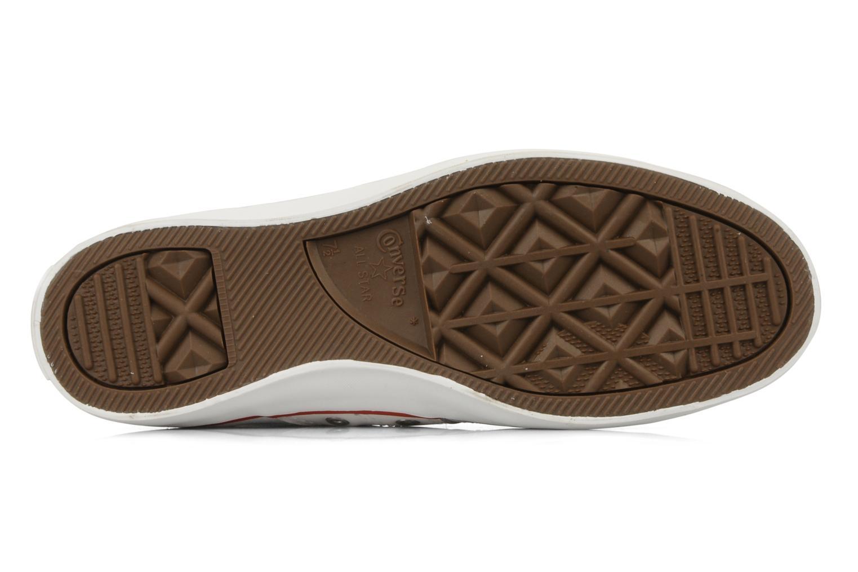 Sneakers Converse Chuch Taylor lady Canvas Hi Bianco immagine dall'alto
