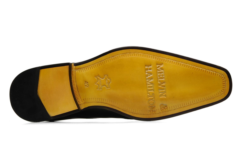 Scarpe con lacci Melvin & Hamilton Smith 3 Nero immagine dall'alto