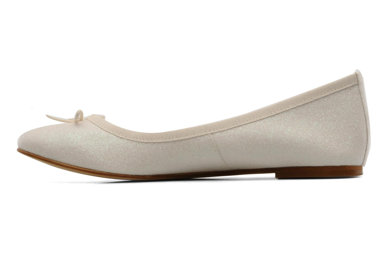 Ballerinas Georgia Rose Garbo beige ansicht von vorne