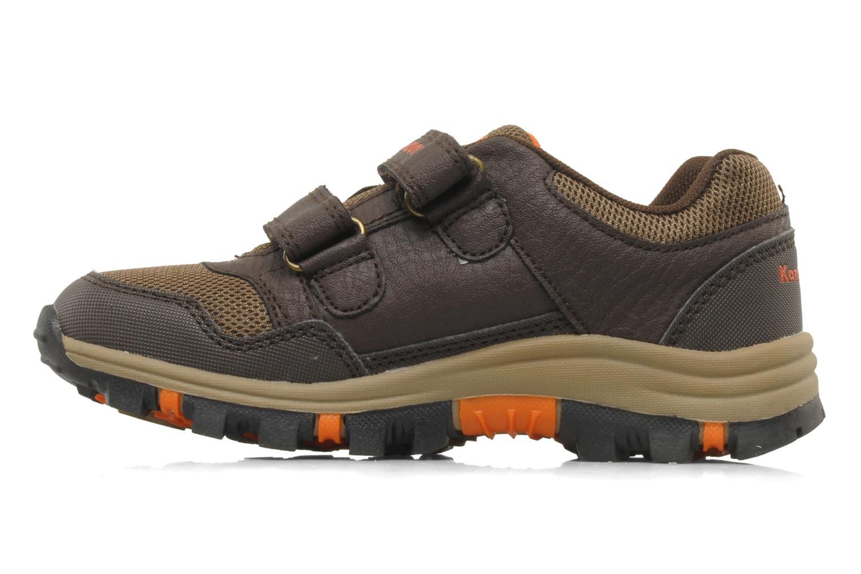Sneakers Kangaroos Tigua V Bruin voorkant