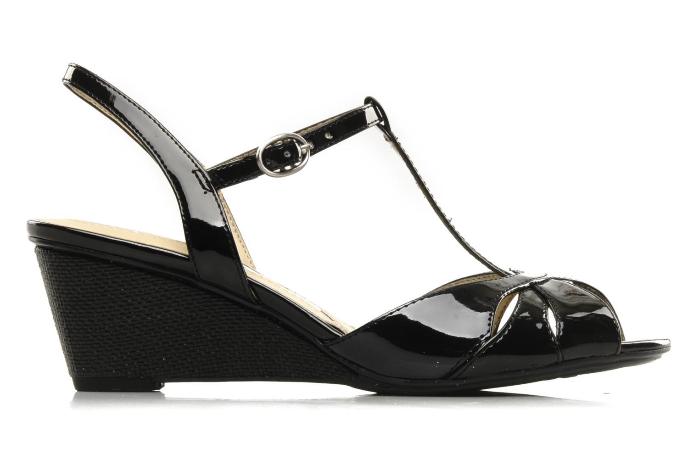 Sandales et nu-pieds Naturalizer Holt Noir vue derrière