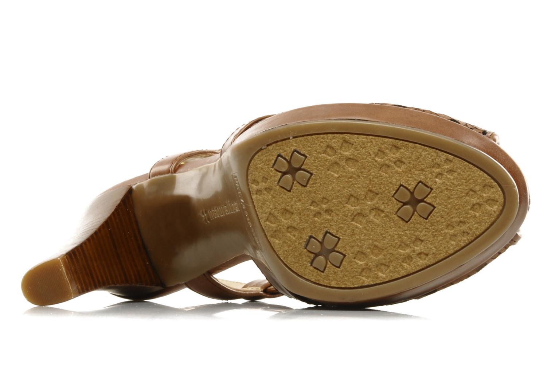 Sandalen Naturalizer Korina braun ansicht von oben