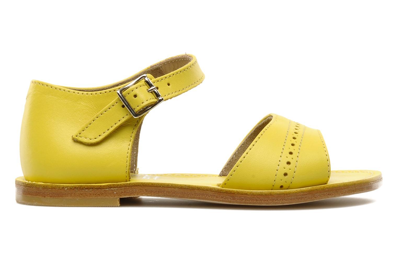 Sandalen start rite classics MEG Geel achterkant