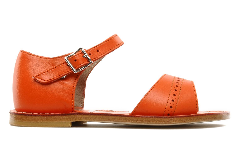 Sandales et nu-pieds start rite classics MEG Orange vue derrière