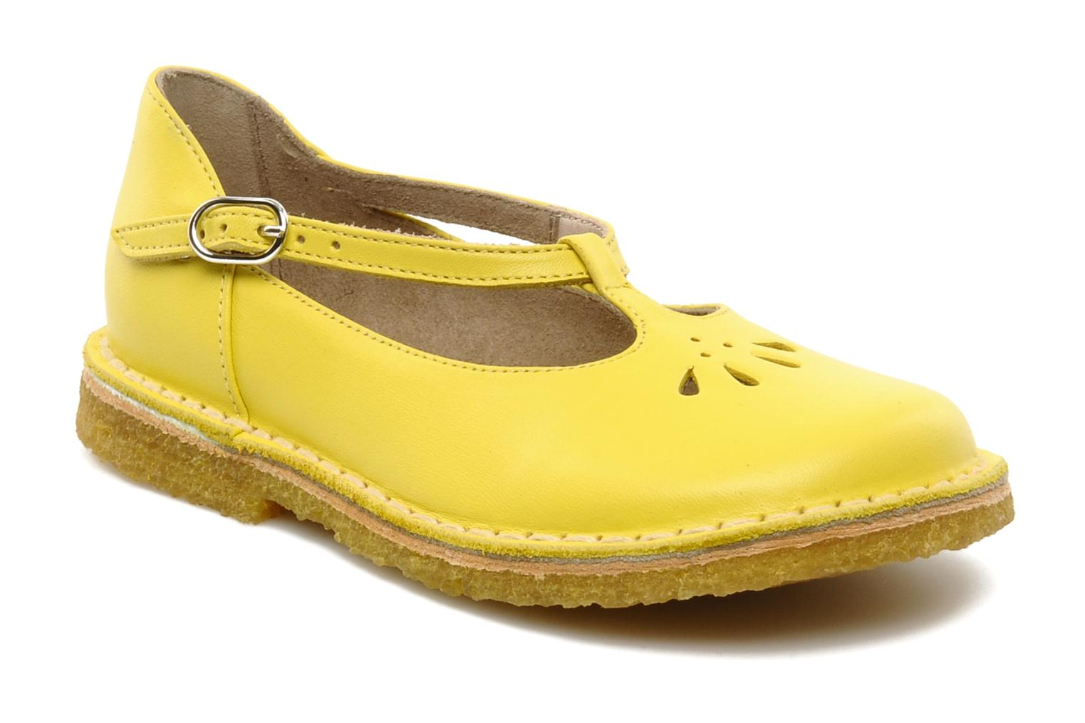 SUSAN Yellow Leather