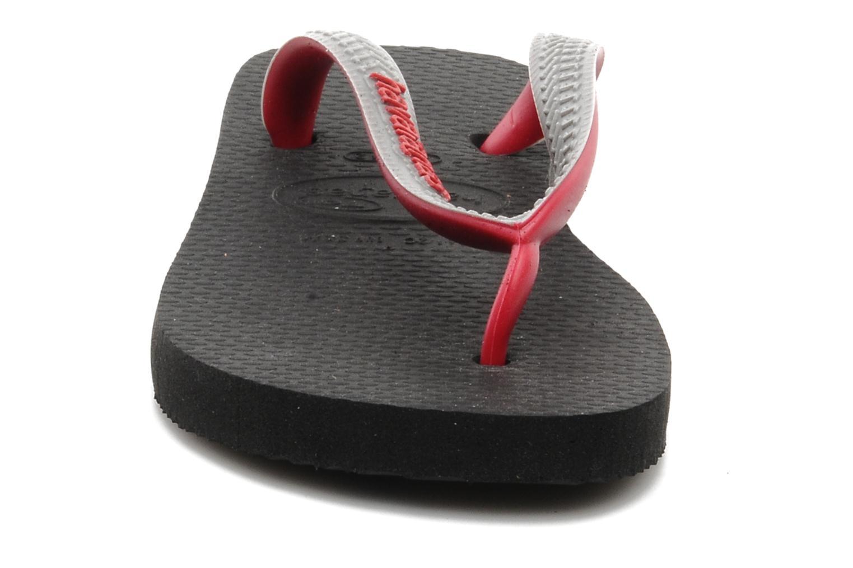 Tongs Havaianas Top mix Kid Gris vue portées chaussures