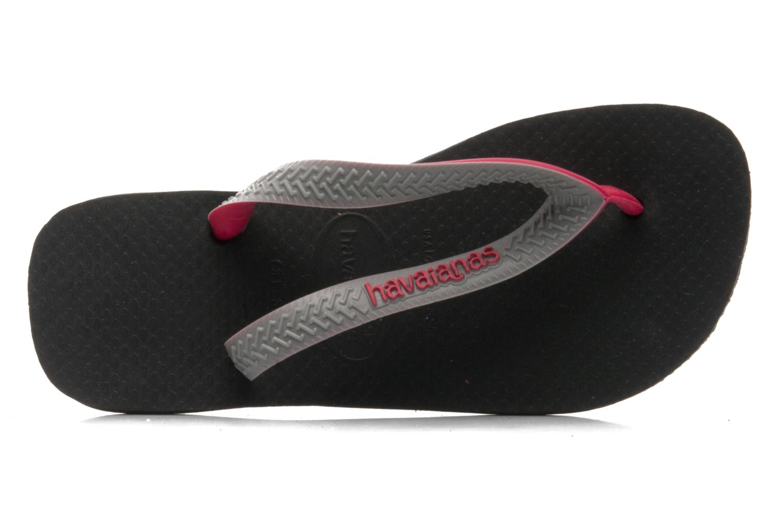Zehensandalen Havaianas Top mix Kid grau ansicht von links