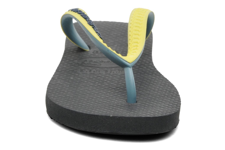 Tongs Havaianas Top mix Kid Noir vue portées chaussures