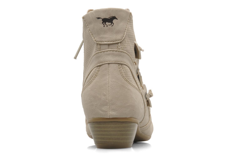 Stiefeletten & Boots Mustang shoes Macere beige ansicht von rechts