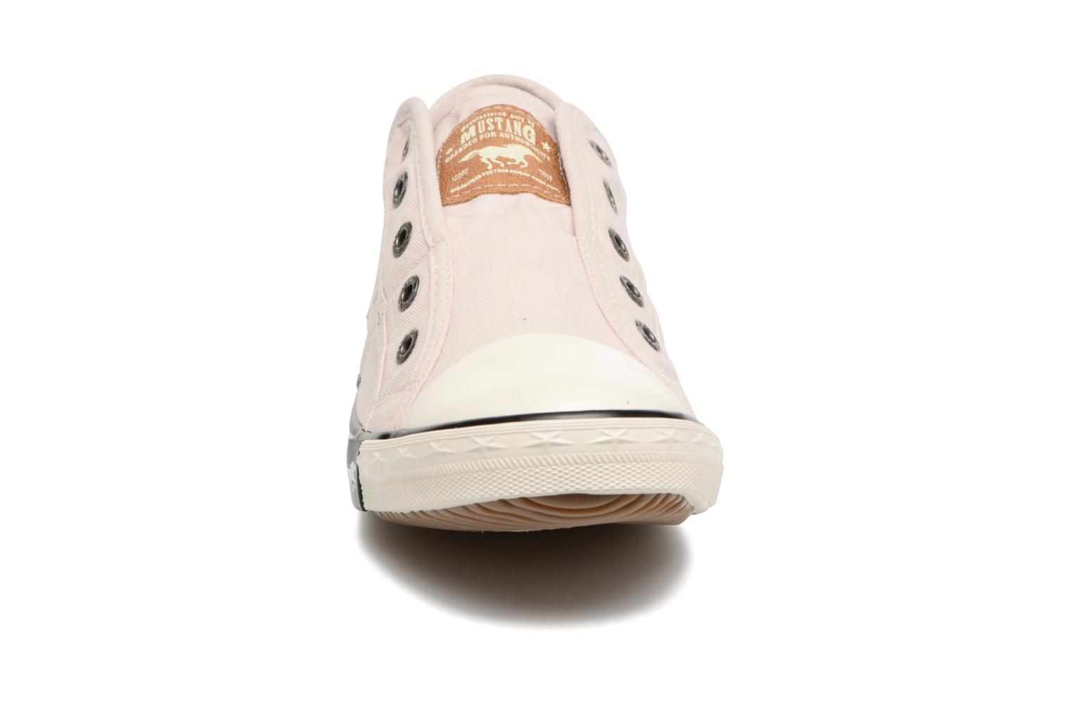 Baskets Mustang shoes Marcus Rose vue portées chaussures