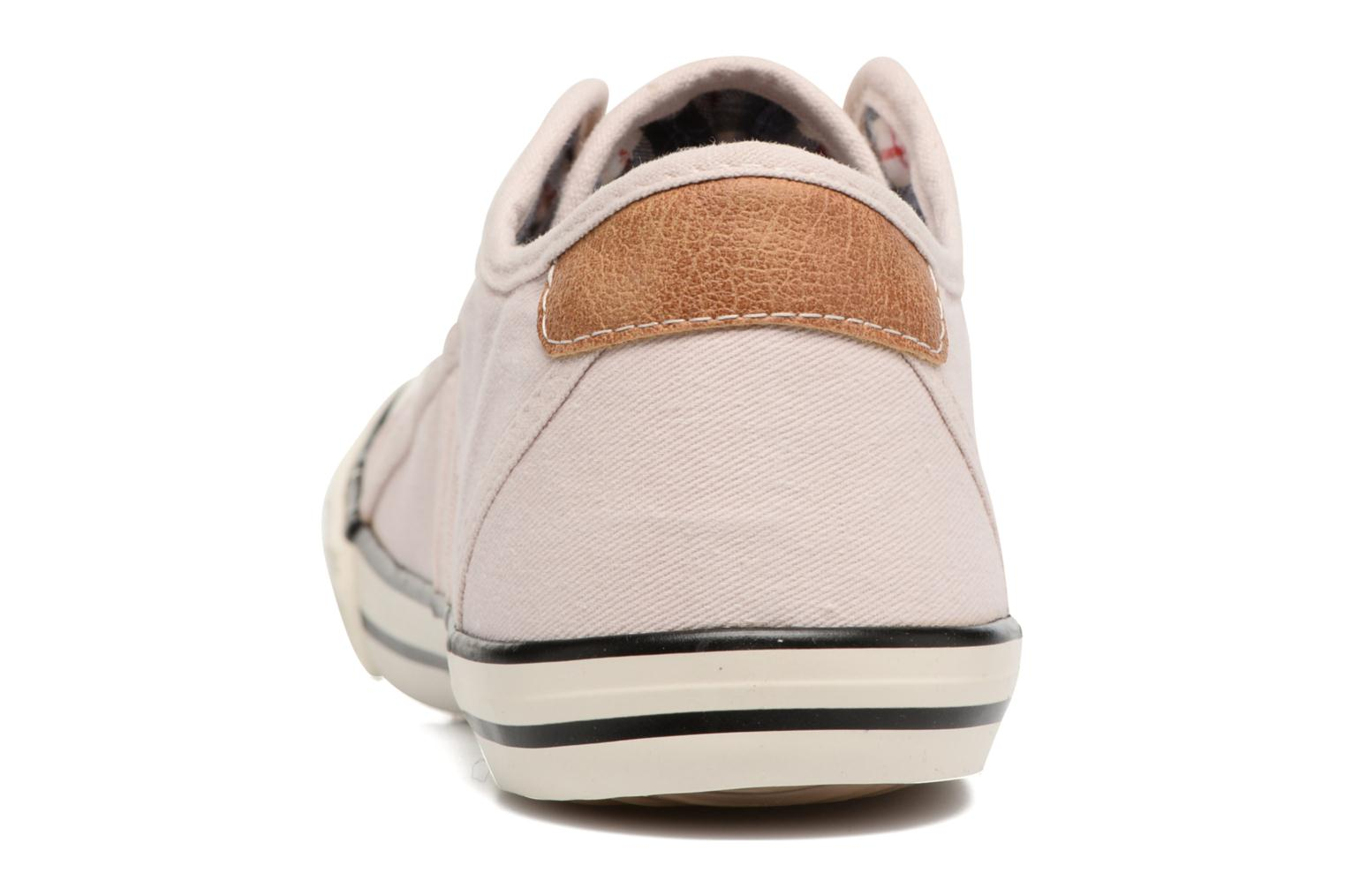 Baskets Mustang shoes Marcus Rose vue droite
