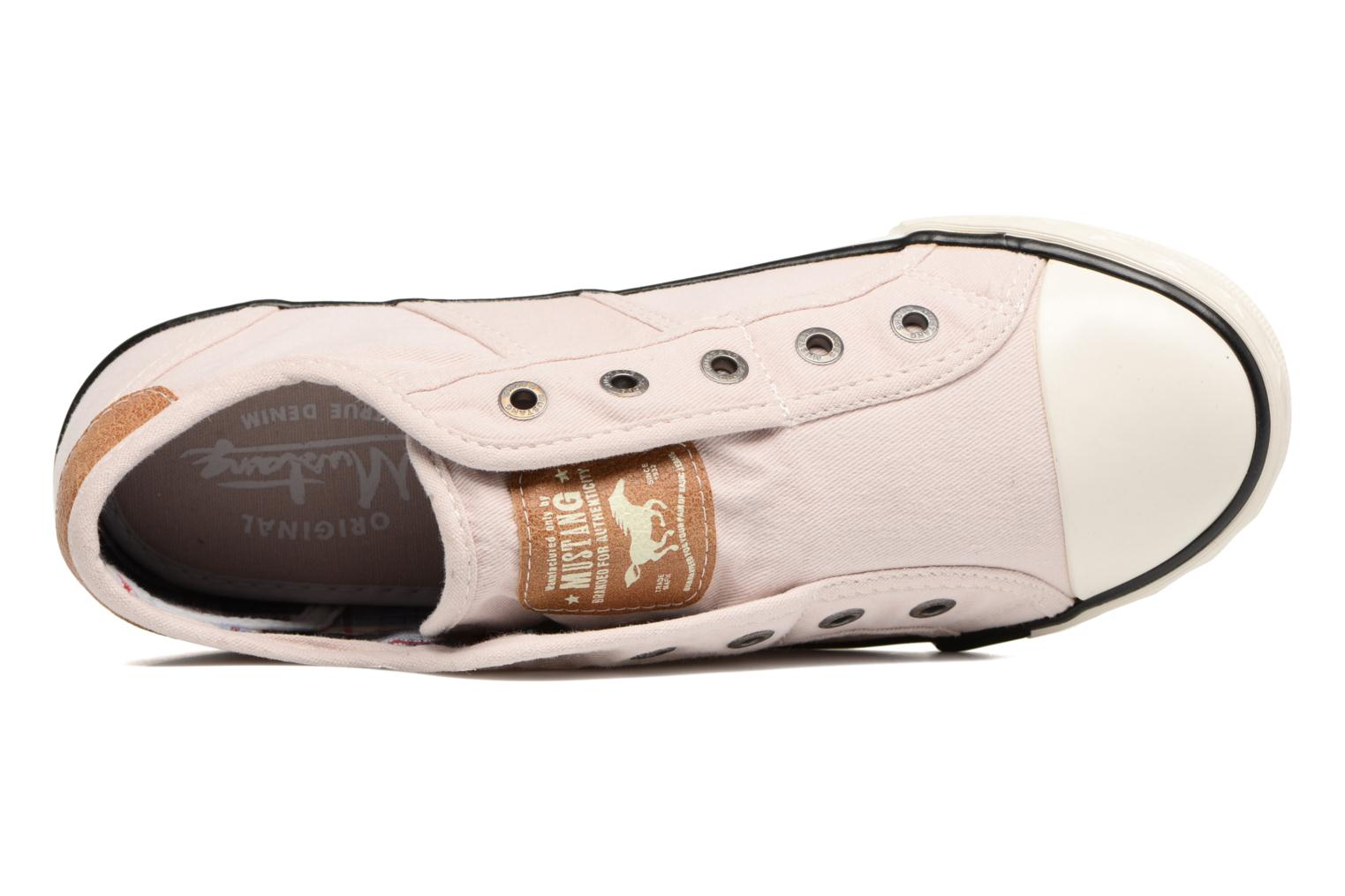 Baskets Mustang shoes Marcus Rose vue gauche