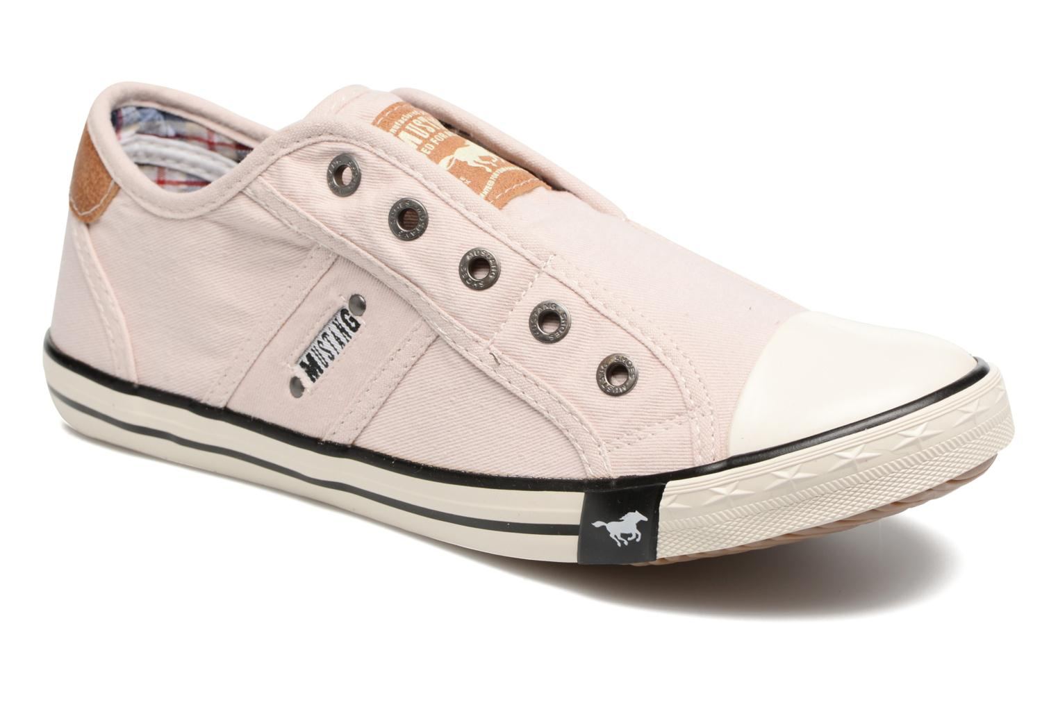 Trainers Mustang shoes Marcus Pink detailed view/ Pair view