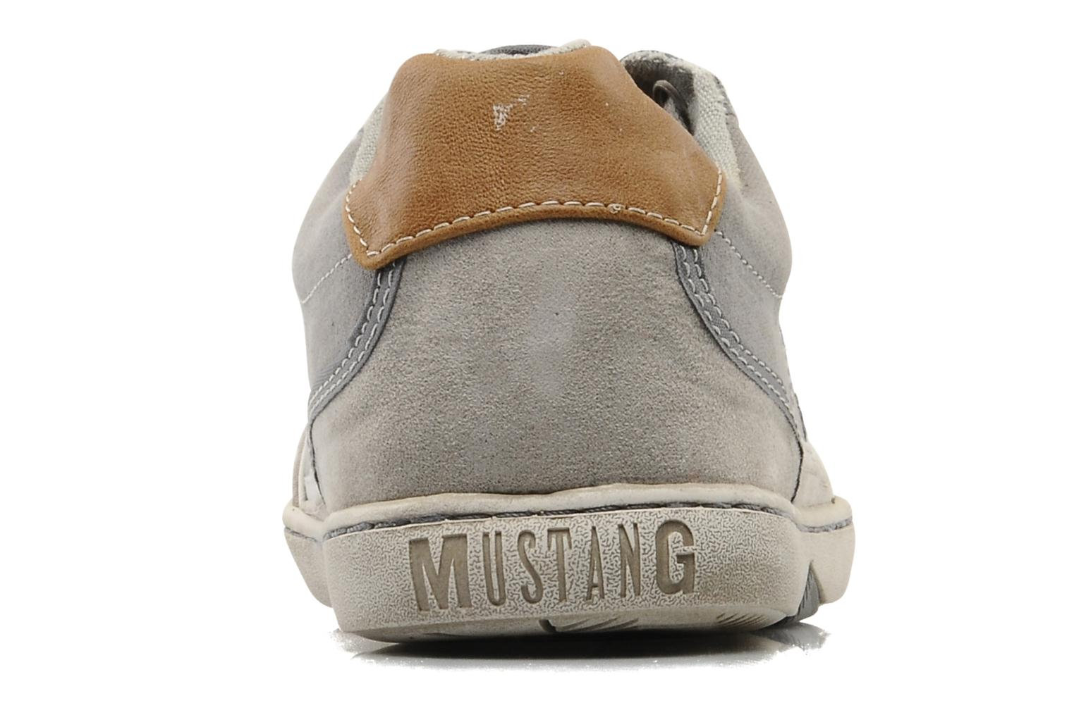 Baskets Mustang shoes Dolfine Gris vue droite