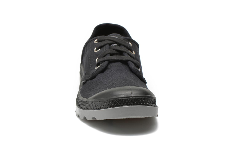 Baskets Palladium Us oxford h Noir vue portées chaussures