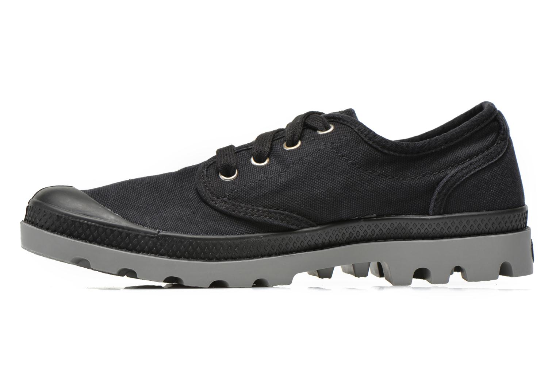 Sneakers Palladium Us oxford h Zwart voorkant