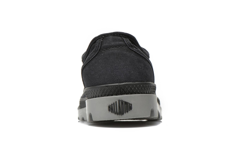 Sneakers Palladium Us oxford h Zwart rechts