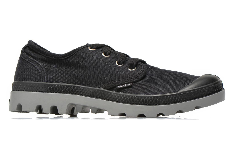 Sneakers Palladium Us oxford h Zwart achterkant